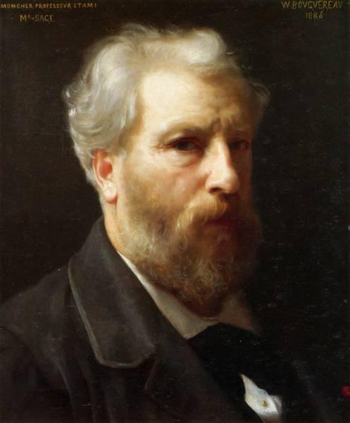 Autoportrait presente a M Sage 1886